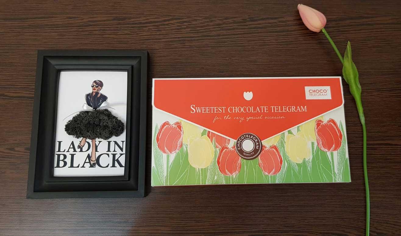 ChocoTelegrama – un cadou care nu se demodează niciodată